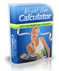 Weight Loss Calculator, Comes With Master Resale/Giveaway Ri