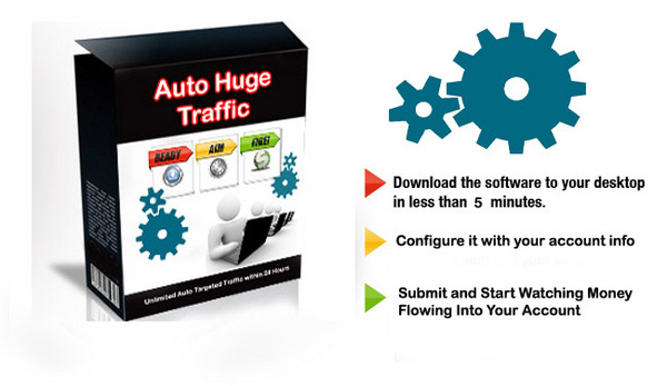 Product picture Mass Traffic Software Drive 18,756 visitors in 3 days!
