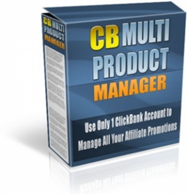 Product picture CB Multi Product Manager with Master Resale Rights
