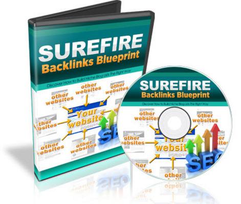 Product picture Surefire Backlinks Blueprint
