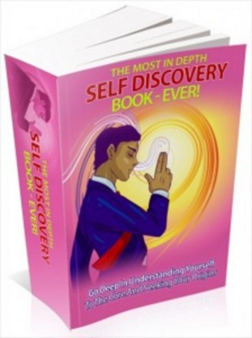 Product picture The Most In Depth Self Discovery Book with MRR