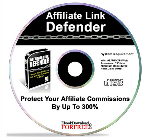 Product picture Affiliate Link Defender Software, Comes With MRR