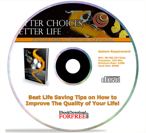Product picture Better Choice, Better Life (PLR)