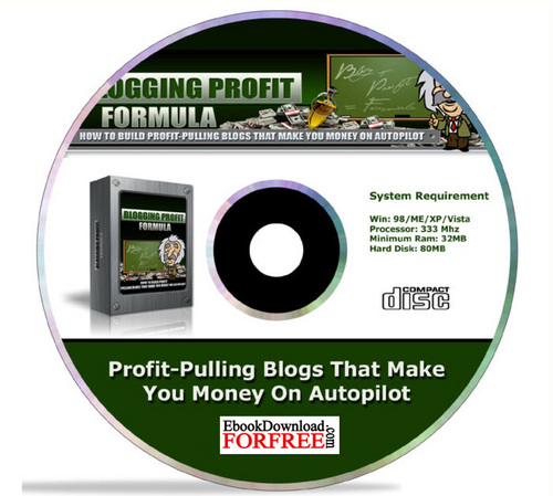 Product picture Blogging Profit Formula with MRR